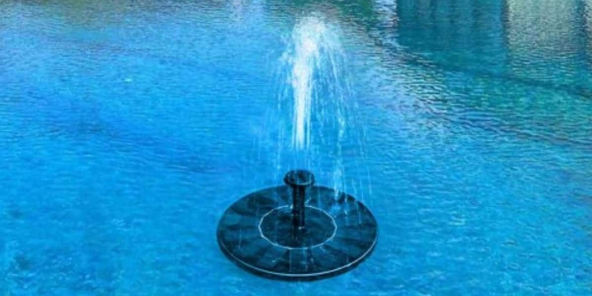 Best Solar Powered Water Fountain