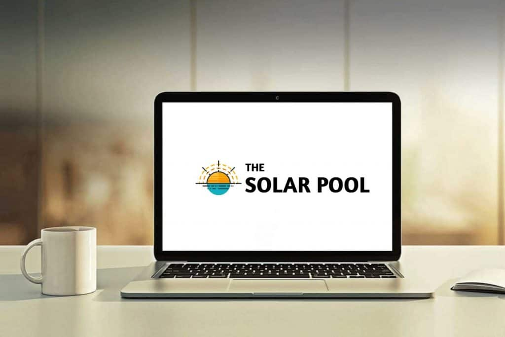 The Solar Pool on Laptop